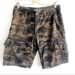 OLD NAVY Camouflage Cargo Pocket Shorts